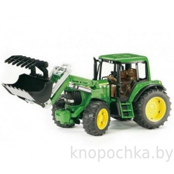 Игрушка Bruder Трактор John Deere 6920 с погрузчиком 02052