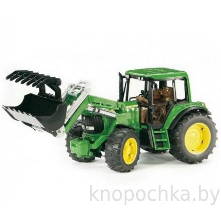 Трактор John Deere 6920 с погрузчиком 02052 Bruder