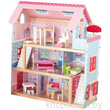 Кукольный домик с мебелью Челси Kidkraft
