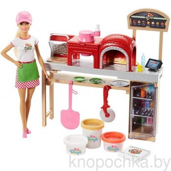 Набор Barbie Готовим пиццу FHR09