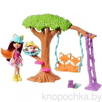 Игровой набор Энчантималс с куклой Фелисити Лис