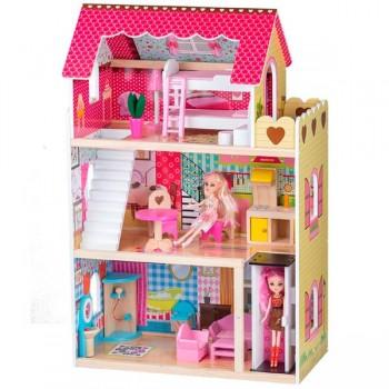 Кукольный домик Malinowa-2 Eco Toys 4120