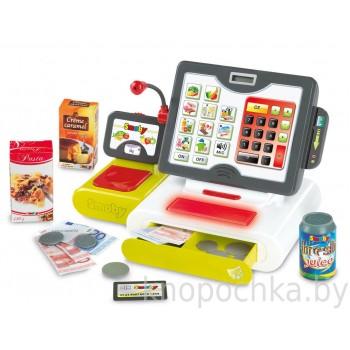Детская электронная касса с аксессуарами Smoby