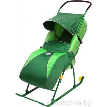 Санки-коляска Тимка 2 Комфорт с колесиками