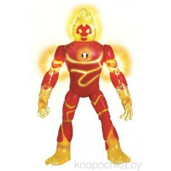 Фигурка Ben 10 Человек-огонь, 16 см (свет, звук)