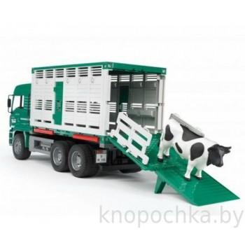 Игрушка Брудер Грузовик MAN с коровой Bruder 02749