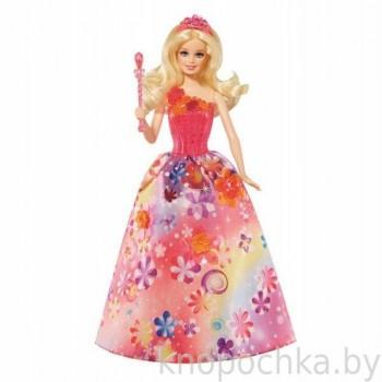 Кукла Барби Волшебная принцесса Потайная дверь (звук, свет)