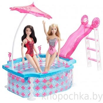 Игровой набор Гламурный бассейн Барби