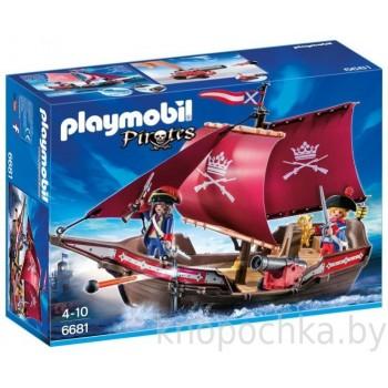 Пираты: Солдатский патрульный корабль Playmobil 6681