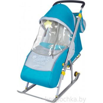 Санки-коляска складные Ника Детям 4