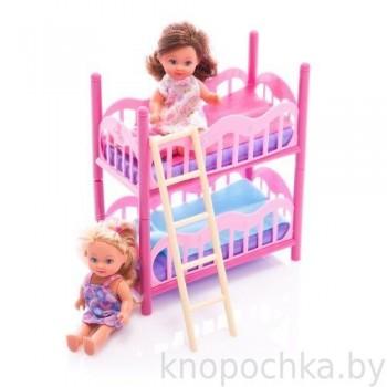 Кукла Еви с кроваткой Simba (2 куколки в наборе)