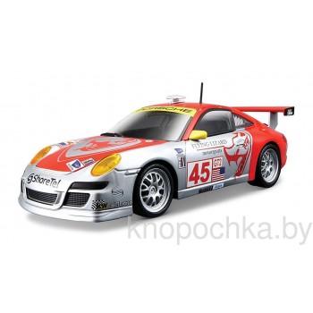 Коллекционная машинка Porsche 911 GT3 RSR Bburago 1:24