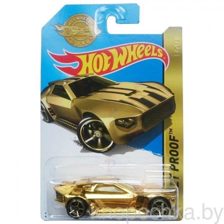 Золотая машинка Hot Wheels