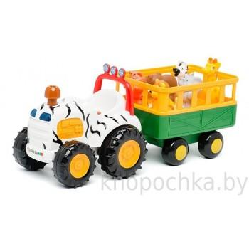 Трактор Сафари с животными Киддиленд Kiddieland 051169