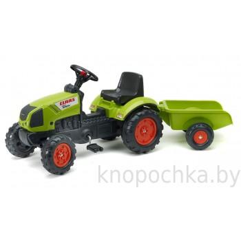 Педальный трактор с прицепом Falk Claas Arion 2040A