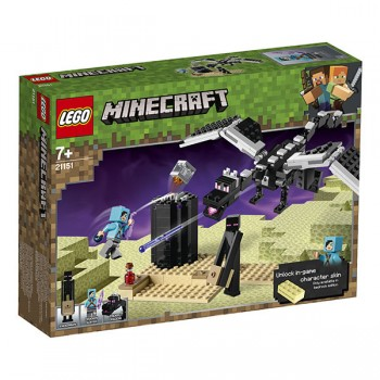 Lego Minecraft 21151 Последняя битва