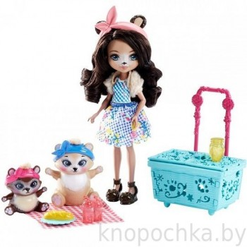 Набор Энчантималс Пикник на природе с куклой Брэн