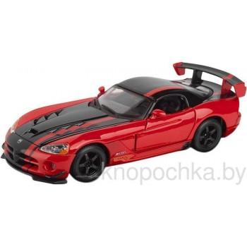 Коллекционная машинка Dodge Viper SRT-10 ACR Bburago 1:24