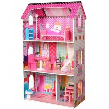 Кукольный домик EcoToys Poziomkowa