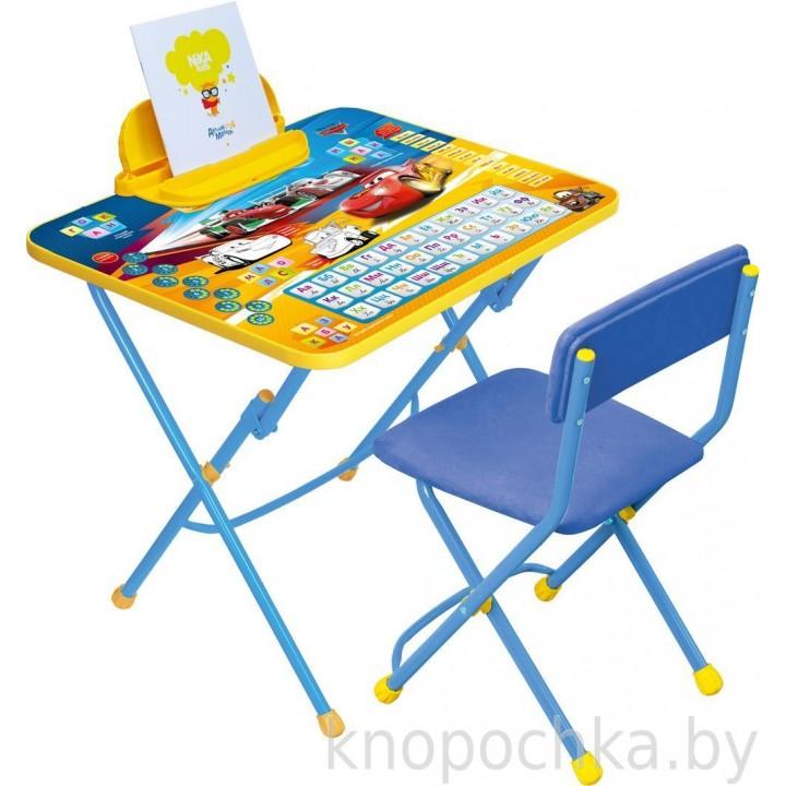 Детский столик и стульчик Ника Тачки Disney3