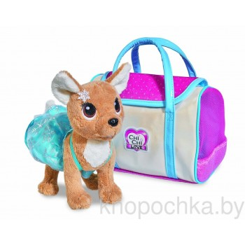 Собачка Chi Chi Love Зимняя мода с сумочкой