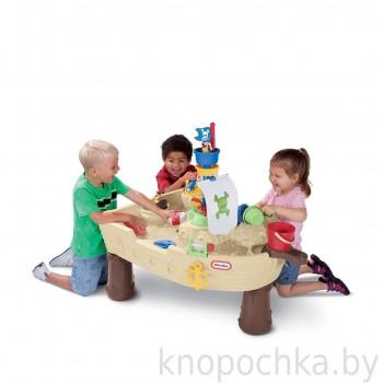 Стол для песка и воды Пиратский корабль Little Tikes 628566