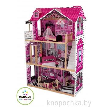 Кукольный домик с мебелью Амелия Kidkraft