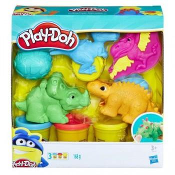 Набор пластилина Play Doh Динозаврики E1953