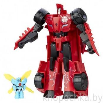 Трансформеры: Заряженый Сайдсвайп и миникон Виндстрайк Hasbro B7068