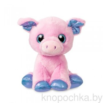 Мягкая игрушка Aurora Свинка, 18 см