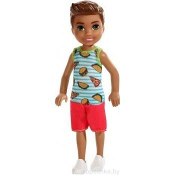 Кукла Челси мальчик брюнет Барби FXG78