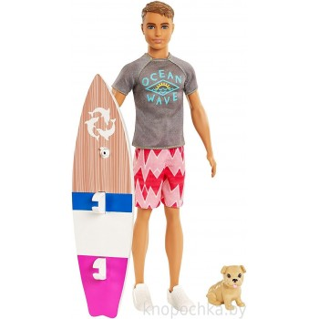 Кукла Barbie Кен Морские приключения FBD71