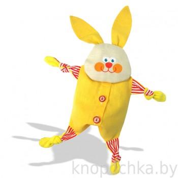 Игрушка грелка с вишневыми косточками Заинька
