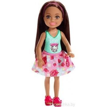 Кукла Челси брюнетка Барби FXG79