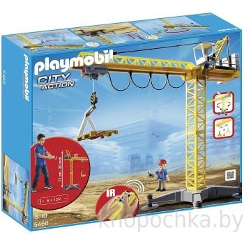 Playmobil 5466 Стройка Большой строительный кран на инфракрасном управлении