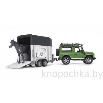 Игрушка Брудер Внедорожник Land Rover Defender Bruder 02592