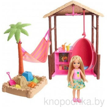 Кукла Челси и хижина серии Путешествия FWV24