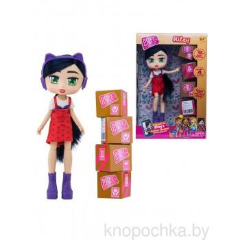 Кукла Boxy Girls Райли с покупками, 20 см