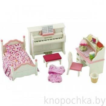 Детская комната Sylvanian Families 2953 бело-розовая