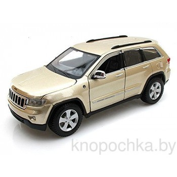 Коллекционная машинка Jeep Grand Cherokee 2011 1:24 Maisto 31205