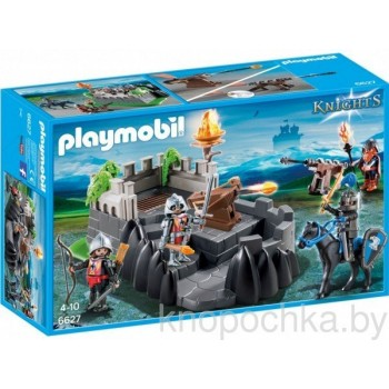 Плеймобил Рыцари: Крепость рыцарей дракона Playmobil 6627