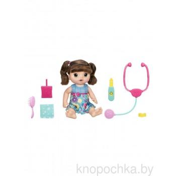 Кукла Baby Alive Малышка у врача (шатенка)