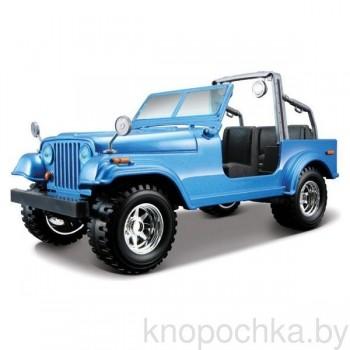 Коллекционная машинка Jeep Wrangler Bburago 1:24