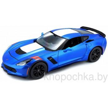 Модель автомобиля Chevrolet Corvette Grand Sport 2017 1:24 Maisto 31516