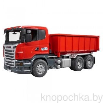 Игрушка Брудер Самосвал-контейнеровоз Scania Bruder 03522