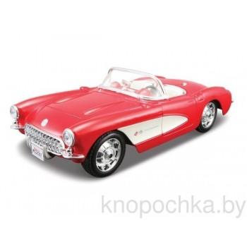 Сборная модель автомобиля Chevrolet Corvette 1957 1:24 Maisto 39275