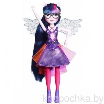 Интерактивная кукла Твайлайт Спаркл Equestria Girls Hasbro