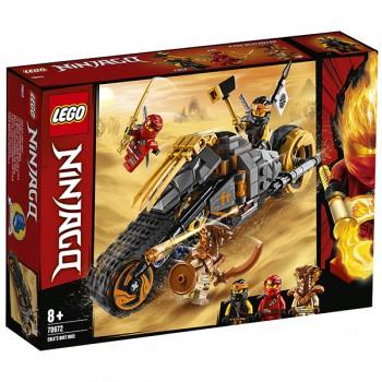 Lego Ninjago 70672 Раллийный мотоцикл Коула