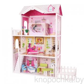 Кукольный домик с мебелью California EcoToys