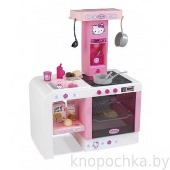 Интерактивная детская кухня miniTefal Cheftronic Hello Kitty Smoby